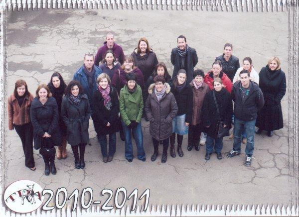 TDA 2010 - 2011  Mes collègues