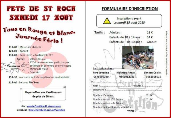 Fête de Saint-Roch