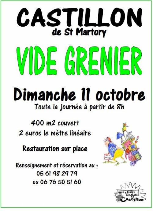 Vide Grenier : dimanche 11 octobre 2015