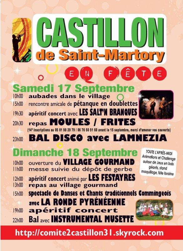Fête à Castillon 2016 !