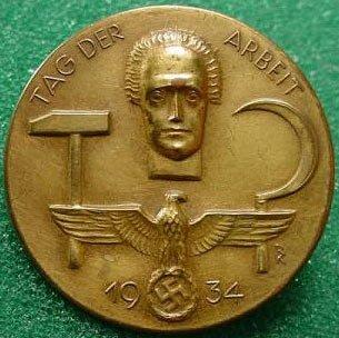 badge de l'alliance russo-nazi