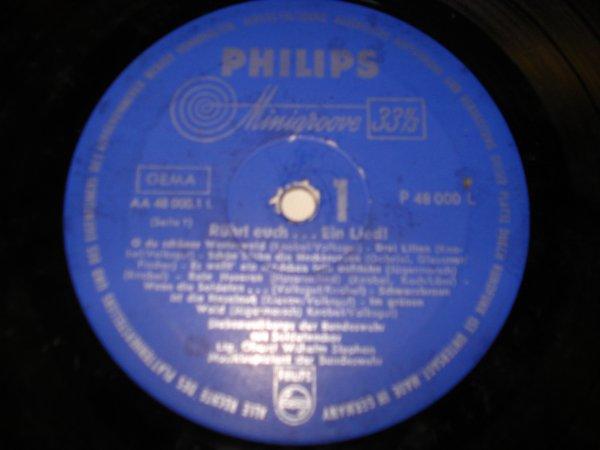 vinyle Rührt euch ... Ein Lied !