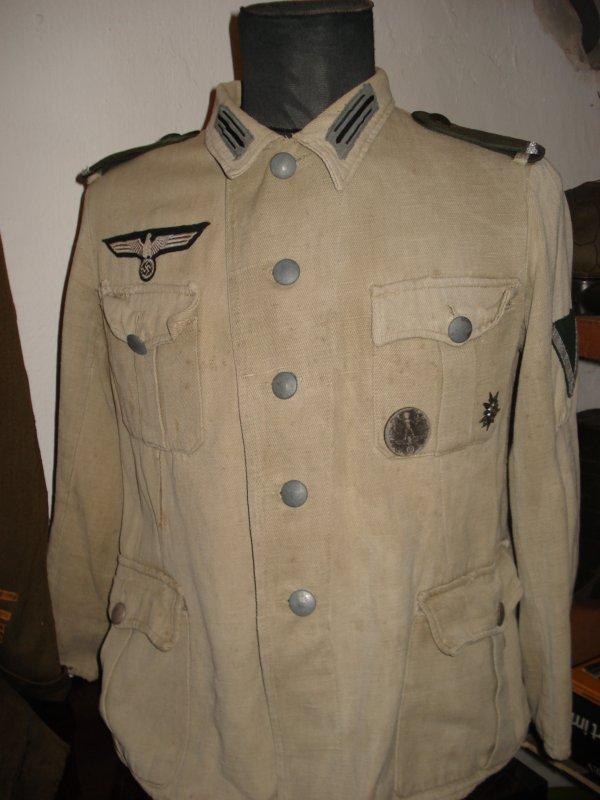 Vareuse Wehrmacht troupe de Montagne !!