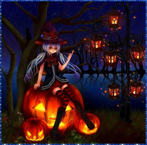 Bonne soirée d' Halloween ....