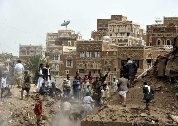 Le Yemen sous la guerre