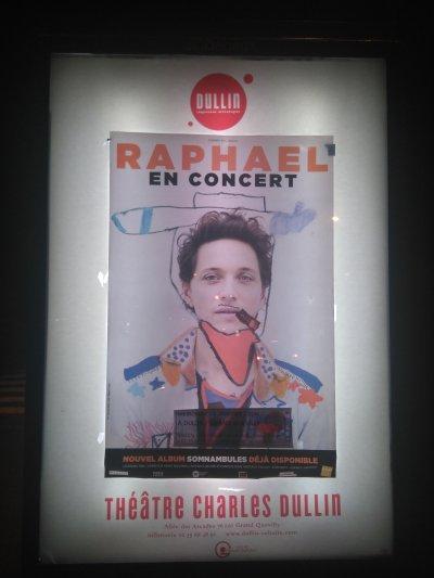 Concert RAPHAEL - Théâtre Charles Dullin, Le Grand Quevilly (76), le 13/01/2016