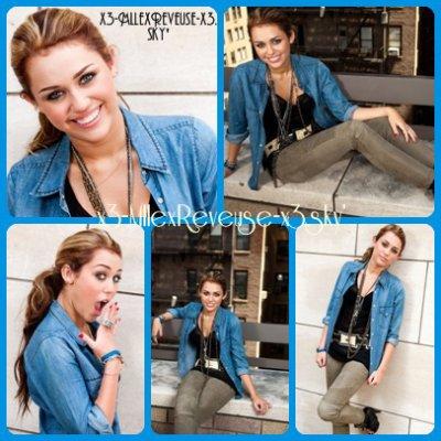 La perfection porte un nom ; Miley Cyrus.
