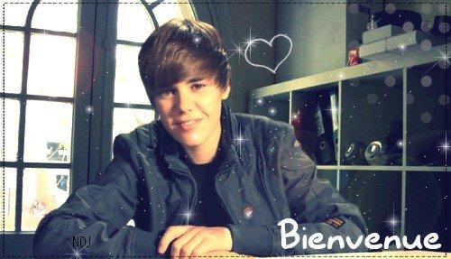 Bienvenue sur t'as nouvelle source de Justin Bieber :)