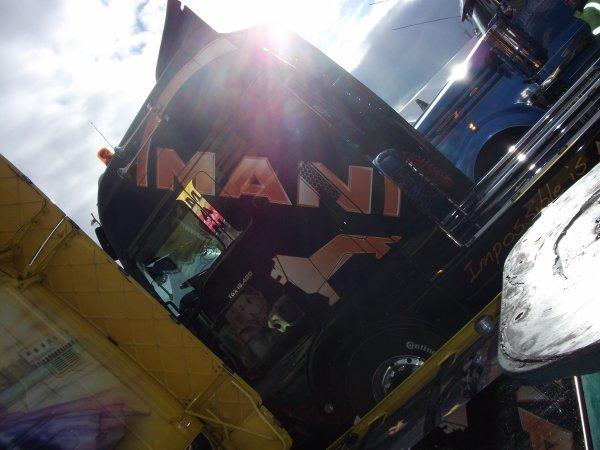 expos de camion au 24h du mans