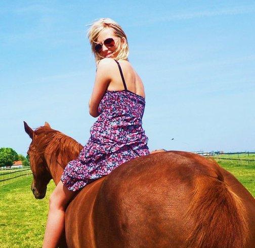 Mon cheval Moi..
