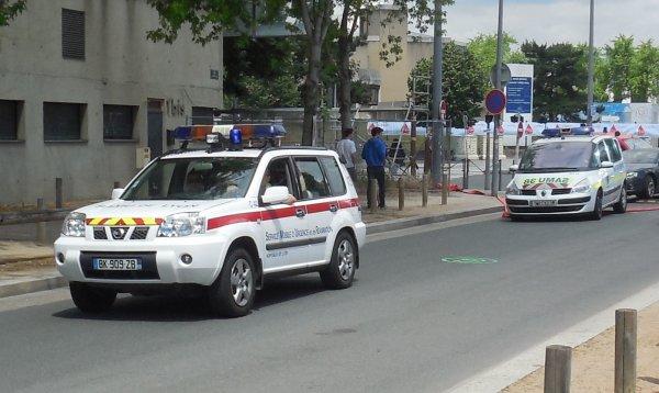 Suite des photos concernant la simulation d'attentat.