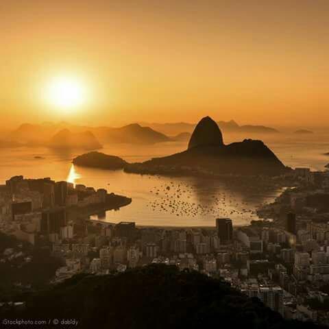 Magnifique prise de vue de Rio de Janeiro