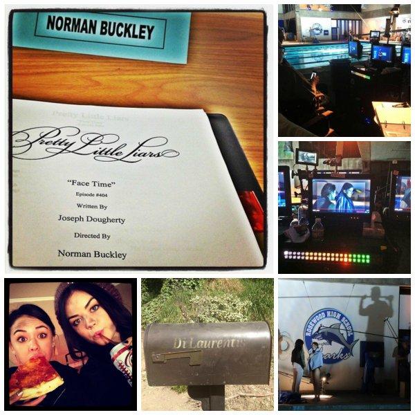 Photos tournages saison 4.
