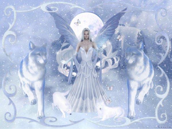 Un ange et des loups