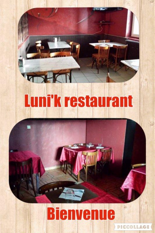 Bonjour et bienvenue au restaurant LUNI'K.