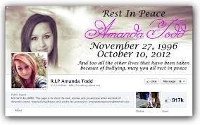 RIP : Amanda Todd
