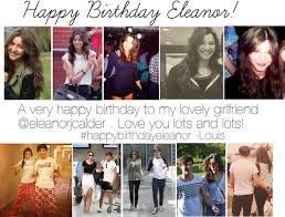 Happy Bithday Eleanor Calder !