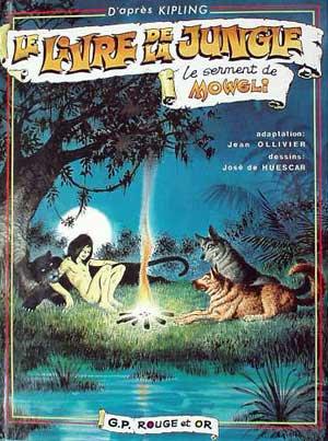 Le Livre de la jungle : le serment de Mowgli! (B.D)