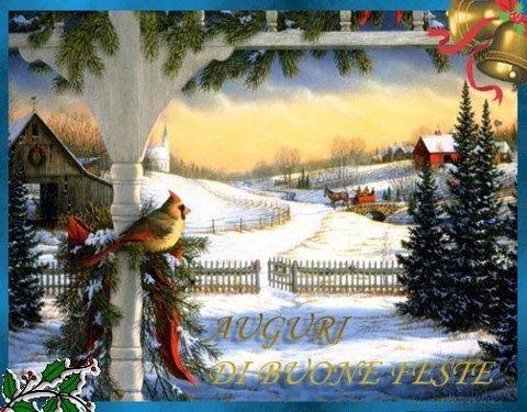 Auguri di Buon Natale e Felice Anno nuovo