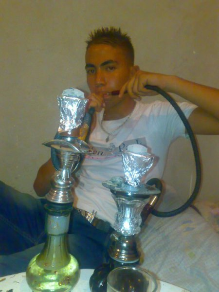 moi en mode chicha !! lol