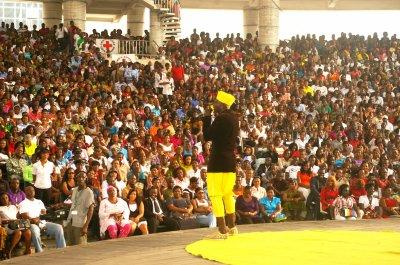 """Le Ramatoulaye Show au palais de la culture d'Abidjan à """"Bonjour 2011"""""""