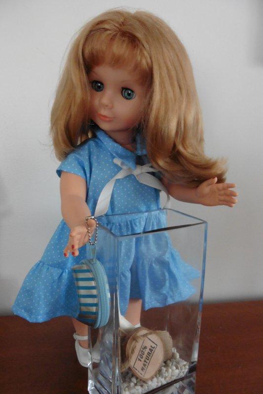 La robe de Lilou ... terminée ....
