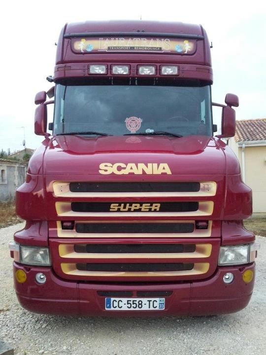 Scania torpédo