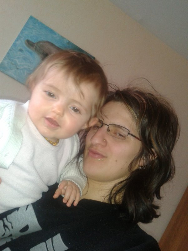 ma femme et ma fille je t adore <3