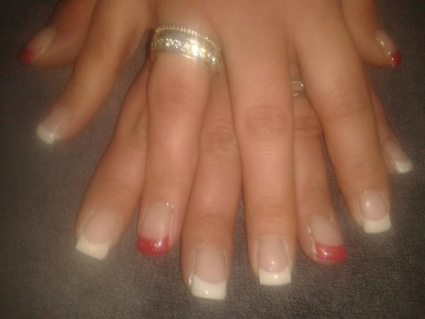 Rouge et blanc New