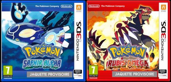 Pokemon Rubis Oméga et Saphir Alpha - Nouveautés en folie !