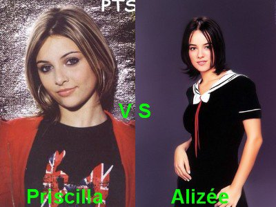 Priscilla vs Alizée