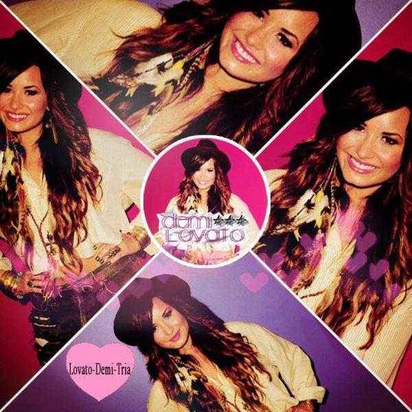 Montage pour Lovato-Demi-Tria