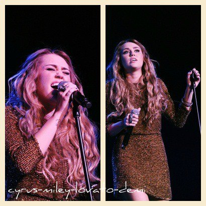 04.12.11 Miley : Trevor Live Performance Hellywood Palladium
