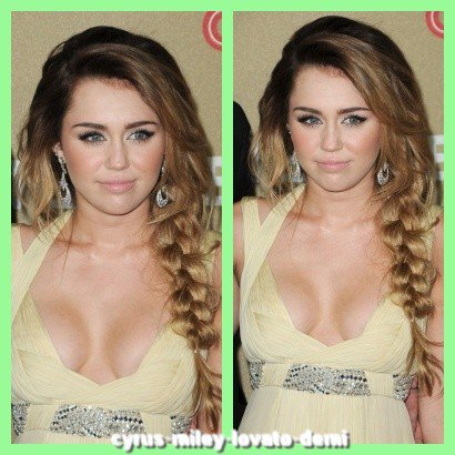 11.12.11 Miley et Liam CNN Tous Tribute Stars - Arrivée