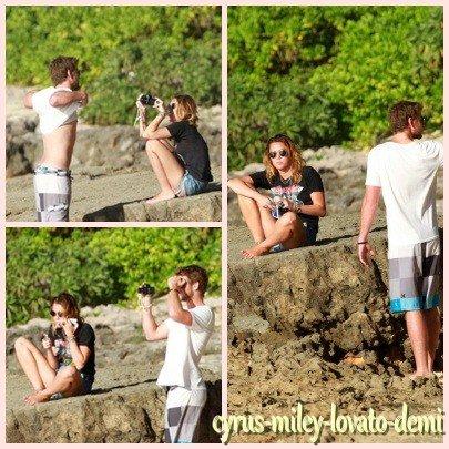 29.12.11 Miley & Liam Passent Du Temps Ensemble , Hawaï