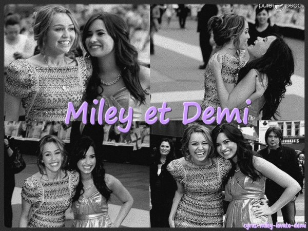 "Demi Lovato : "" MILEY ET MOI SERONS TOUJOURS AMIES """