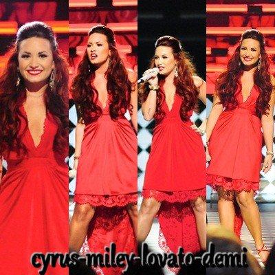 Demi Lovato Au People's Choice Awards 2012