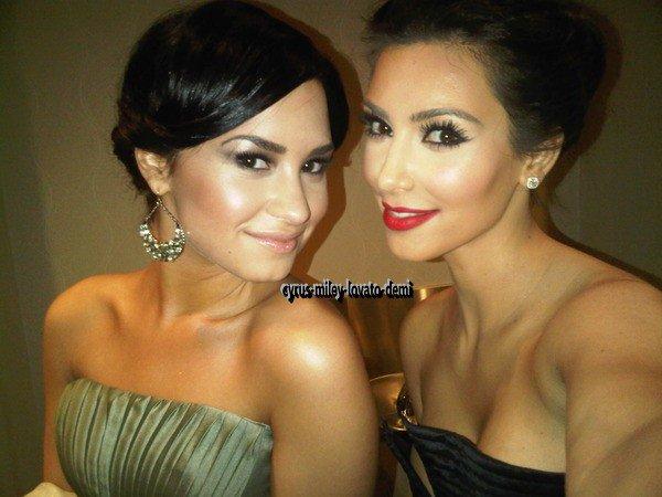 Demi Lovato et Kim Kardashian