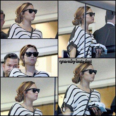 29.02.12 Demi , Départ de l'aéroport de LAX