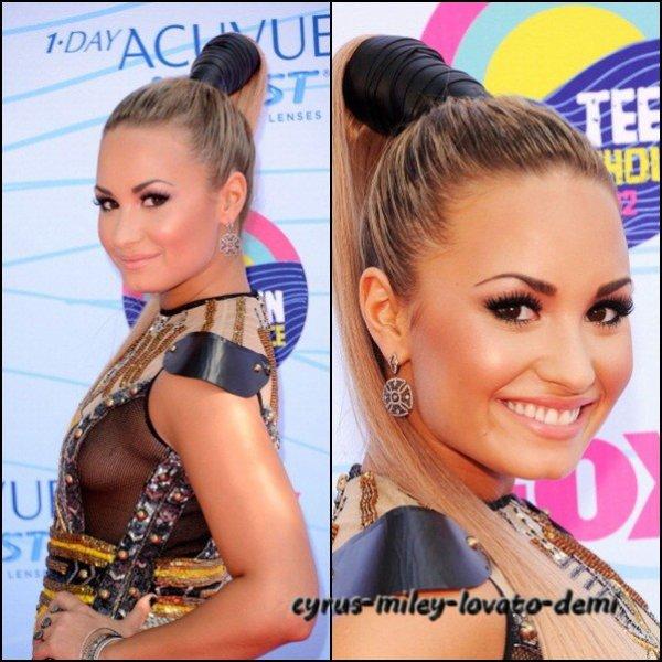 Demi au Teen Choice Awards