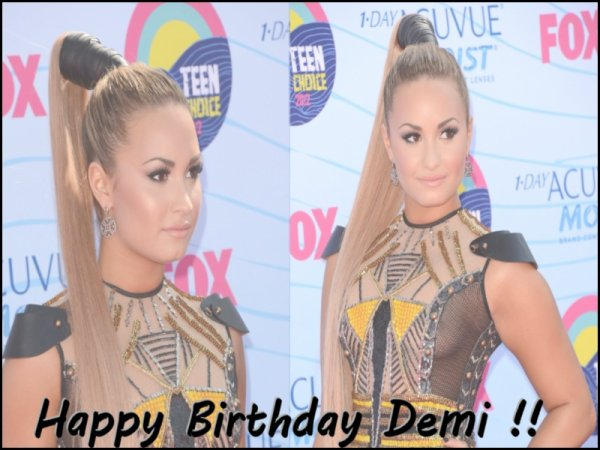 • Happy Birthday Demi ♥