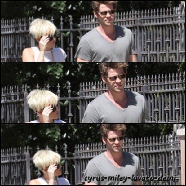Le 2 septembre , Miley & Liam ont été chez un ami , Pasadena .