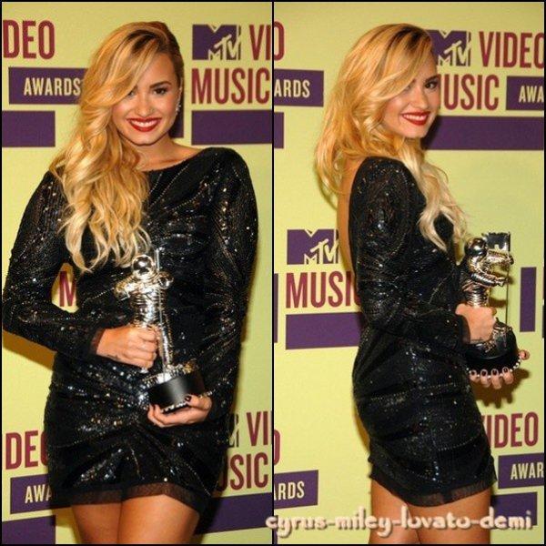 Demi au MTV Video Music Awards le 6 septembre .