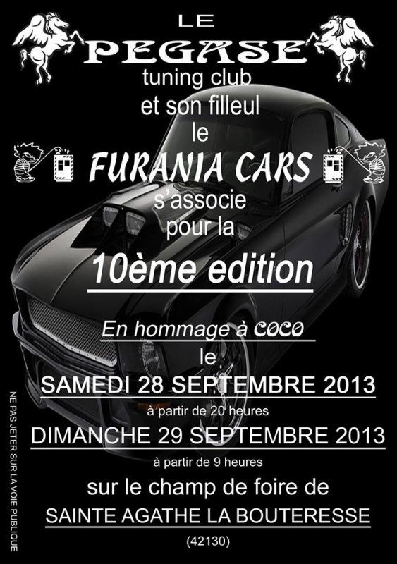 MEETING PEGASE / FURANIA - CARS