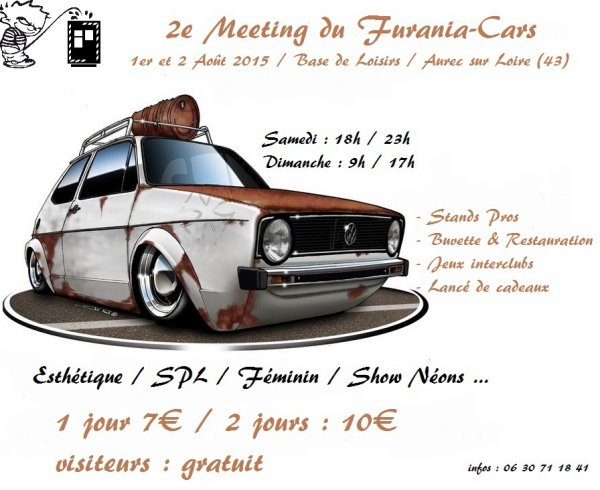 2e meeting du Furania - Cars