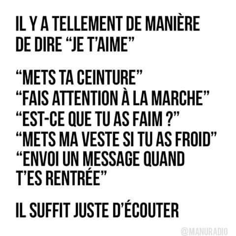 DIRE JE TAIME...💞💘