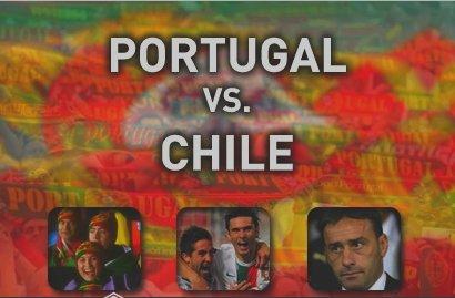 26.03.2011  ::: PORTUGAL 1 x CHILE 1 :::