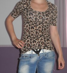 Top LEOPARD taille S/M