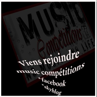♫♪♪♫☆:*´¨`*:..:*´¨`*:.☆♫♪♪♫•*¨*•.¸¸❤¸¸.•*¨*•♫♪MUSIC COMPETITIONS♫♪♪♫☆:*´¨`*:..:*´¨`*:.☆♫♪♪♫•*¨*•.¸¸❤¸¸.•
