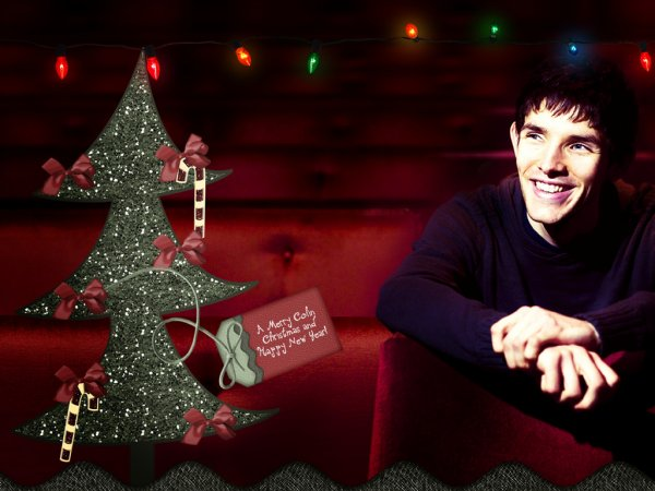 Joyeux Noel et bonnes fêtes de la part du cast de merlin et de moi :)<3
